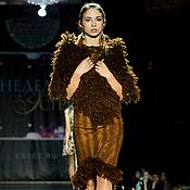 """Одежда ручной работы. Ярмарка Мастеров - ручная работа Платье """"Шоколадная лиса"""". Handmade."""