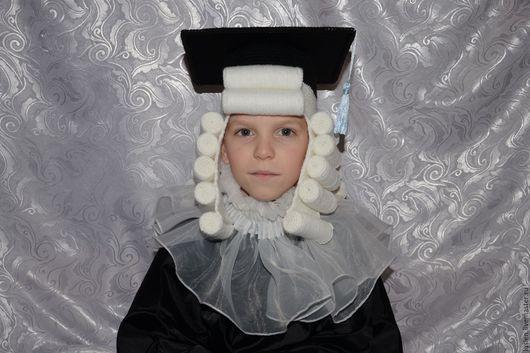 Карнавальные костюмы ручной работы. Ярмарка Мастеров - ручная работа. Купить Ученый (карнавальный головной убор). Handmade. Чёрно-белый