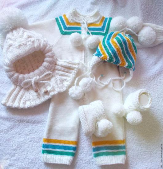 Вязание шапочки шлема ребенку 741