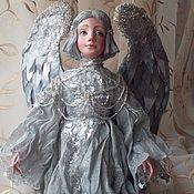 Куклы и игрушки ручной работы. Ярмарка Мастеров - ручная работа Серебряный Ангел. Handmade.