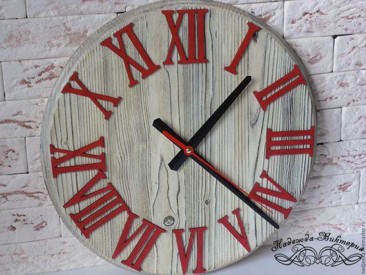 "Часы для дома ручной работы. Ярмарка Мастеров - ручная работа. Купить Часы настенные ""Контраст"". Handmade. Часы настенные"