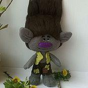 Куклы и игрушки ручной работы. Ярмарка Мастеров - ручная работа Цветан тролль из мультика Trolls. Handmade.