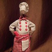 Куклы и игрушки ручной работы. Ярмарка Мастеров - ручная работа Повар Леонардо 37 см. Handmade.