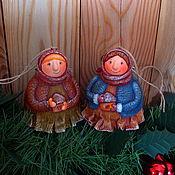 Куклы и игрушки ручной работы. Ярмарка Мастеров - ручная работа Хранительницы. Handmade.