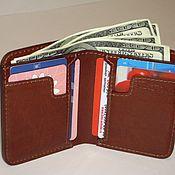 Сумки и аксессуары handmade. Livemaster - original item Small purse genuine leather. small purse.