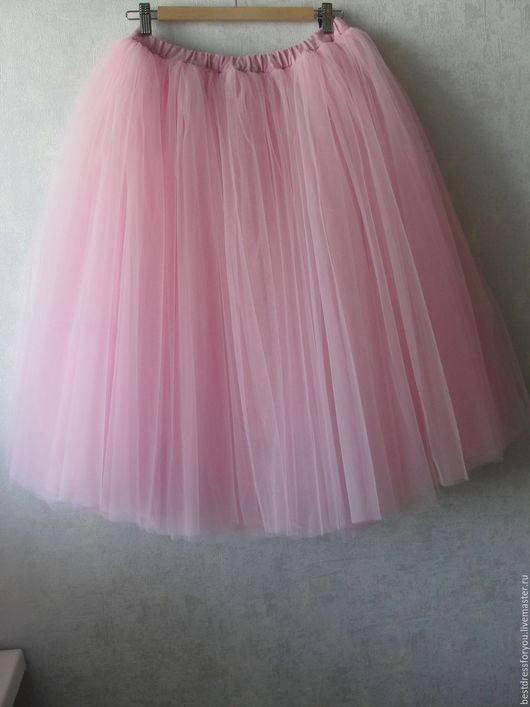 Юбки ручной работы. Ярмарка Мастеров - ручная работа. Купить фатиновая юбка пачка. Handmade. Розовый, праздничная юбка