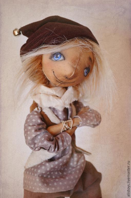 Коллекционные куклы ручной работы. Ярмарка Мастеров - ручная работа. Купить Эрик. Handmade. Эльф, ароматизированная кукла, мальчик, сатин