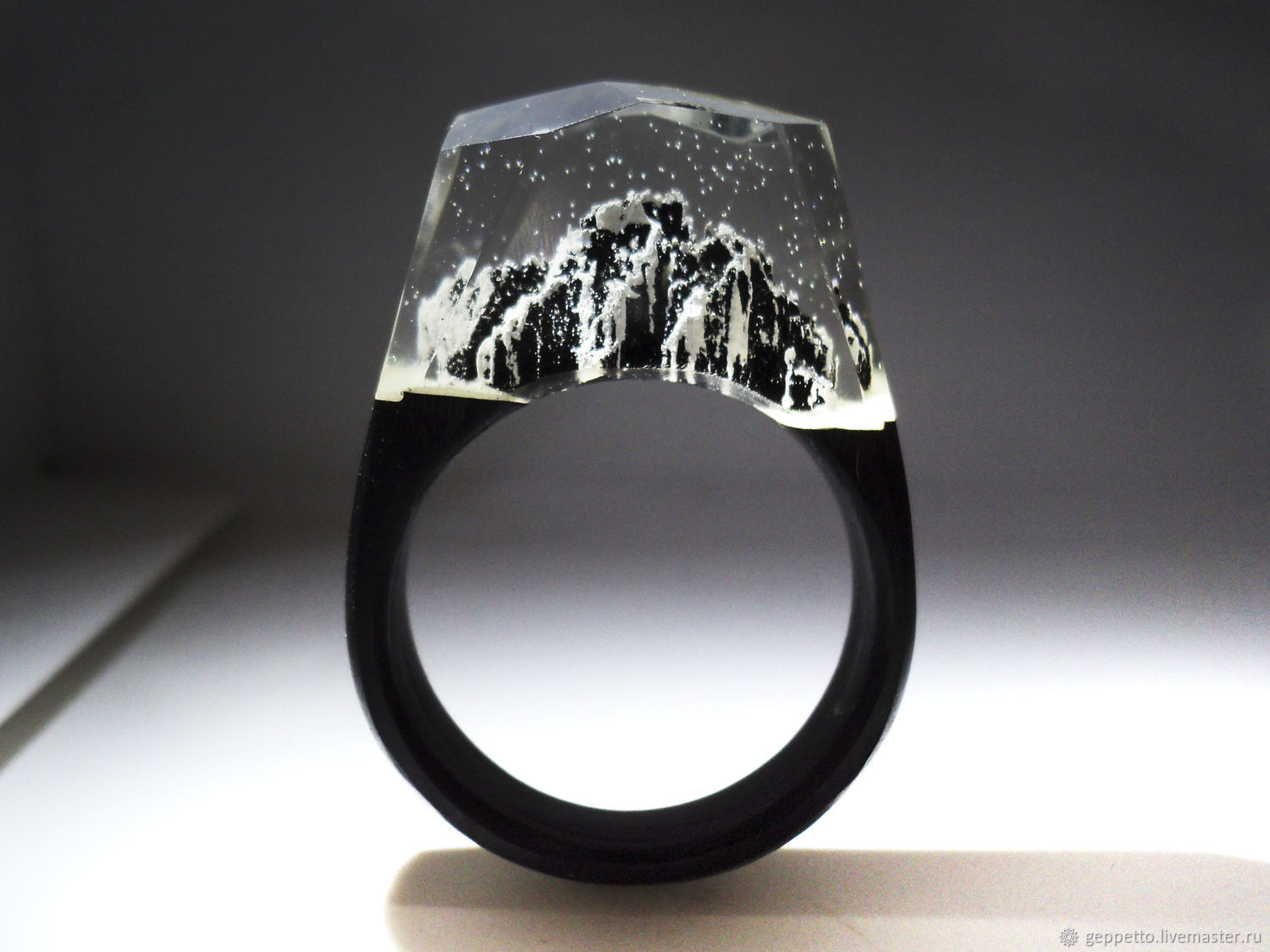 Wooden ring 'Mountains', Rings, Kostroma,  Фото №1