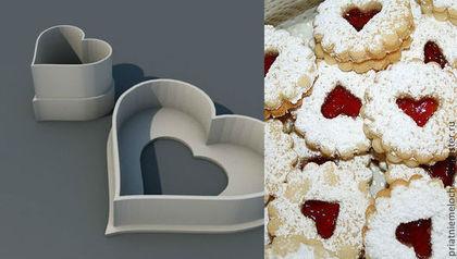 Кухня ручной работы. Ярмарка Мастеров - ручная работа Формочки для большого пирожного Spitzbuben. Handmade.