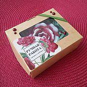 """Косметика ручной работы. Ярмарка Мастеров - ручная работа Мыло """"Роза"""" ручной работы. Handmade."""