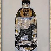 Картины и панно handmade. Livemaster - original item Decorative bottle