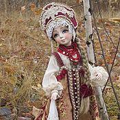 Куклы и игрушки ручной работы. Ярмарка Мастеров - ручная работа Варвара-краса, длинная коса)). Handmade.