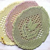 Подарки к праздникам ручной работы. Ярмарка Мастеров - ручная работа Салфетки с пасхальными мотивами. Handmade.