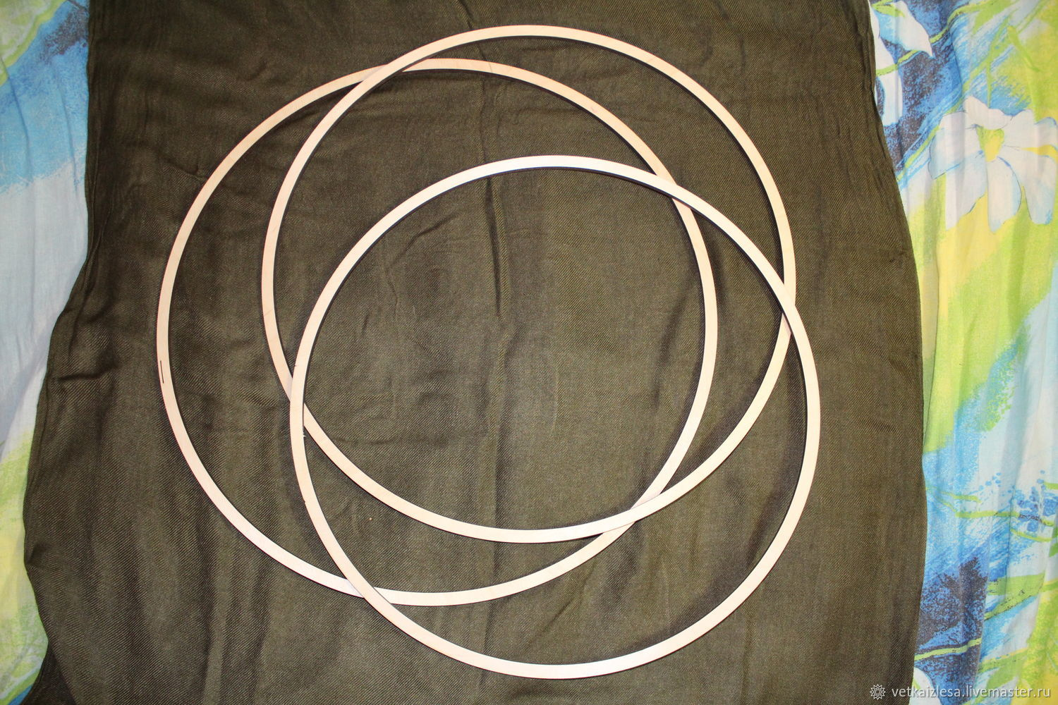 A ring of plywood for the catcher or a baby mobile, to 40,7-44,8 cm