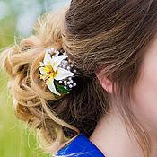 """Украшения ручной работы. Ярмарка Мастеров - ручная работа заколка для волос """"Лилия"""". Handmade."""
