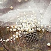 Свадебный салон ручной работы. Ярмарка Мастеров - ручная работа Гребень для прически в винтажном стиле. Handmade.