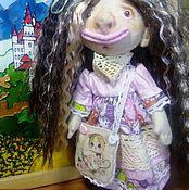 Куклы и игрушки ручной работы. Ярмарка Мастеров - ручная работа Текстильная кукла Аннушка. Handmade.