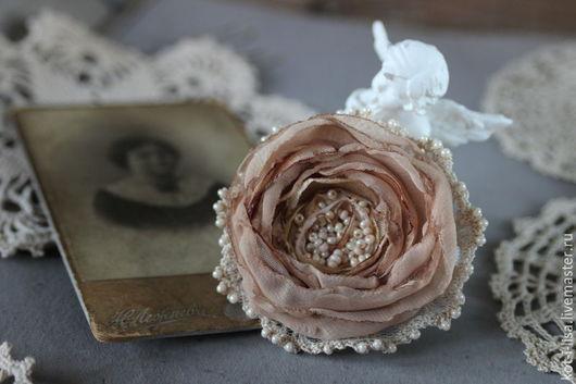 Вариант 1 Брошь роза Брошь цветок Брошь маленькая Роза Роза-брошь