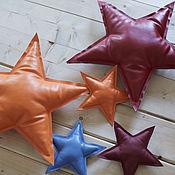 Подушки ручной работы. Ярмарка Мастеров - ручная работа Подушка «Звезда». Handmade.