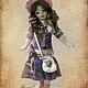 Коллекционные куклы ручной работы. Элис. Mарина Комадей. Ярмарка Мастеров. Авторская кукла