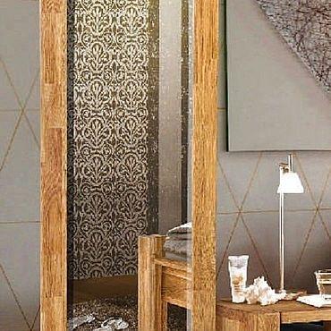 Для дома и интерьера ручной работы. Ярмарка Мастеров - ручная работа Зеркало Валенсия из массива дуба. Handmade.