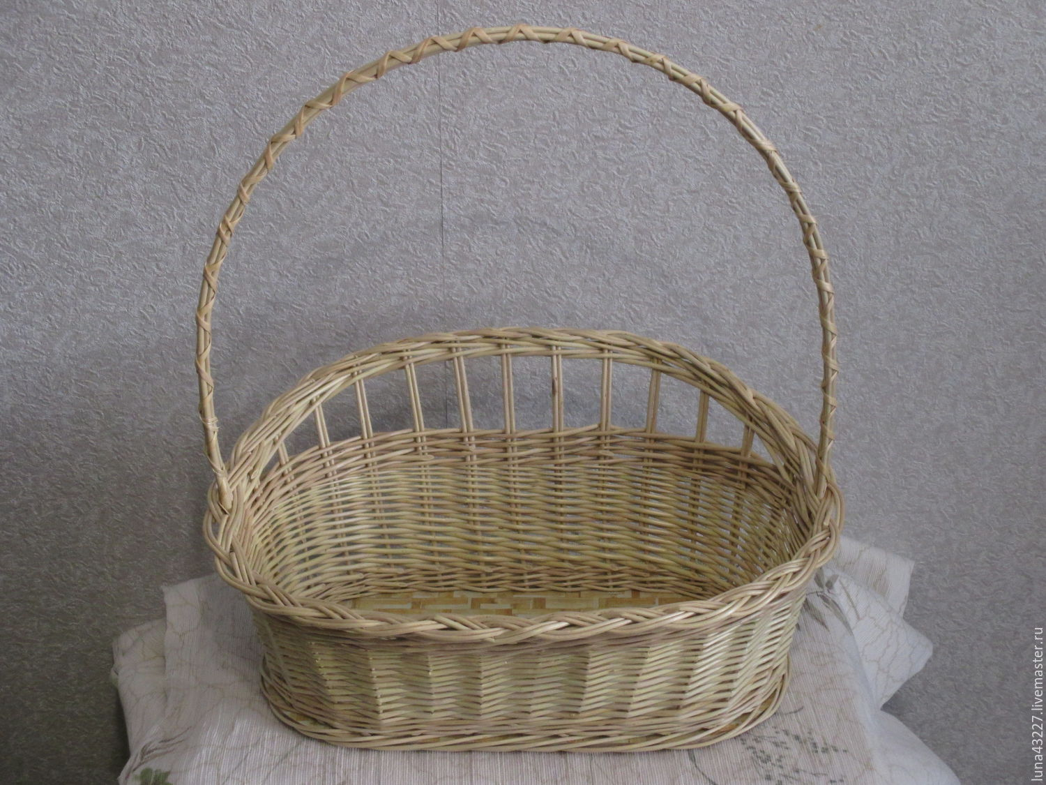 the basket out of vines for the decoration 'gift', Materials for creativity, Kirovo-Chepetsk, Фото №1