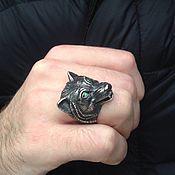 Украшения handmade. Livemaster - original item Ring of Wolf silver 925. Handmade.