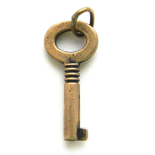 """Кулоны, подвески ручной работы. Ярмарка Мастеров - ручная работа. Купить Кулон """"Ключик (1)"""". Handmade. Маленький, Литье, символ"""