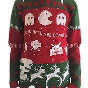 """Одежда ручной работы. Ярмарка Мастеров - ручная работа Свитер """"Необычный Рождественский"""". Handmade."""