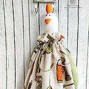 """Для дома и интерьера ручной работы. Ярмарка Мастеров - ручная работа Пакетница курица """"Год Петуха"""". Handmade."""