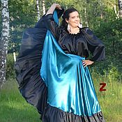 Одежда ручной работы. Ярмарка Мастеров - ручная работа Цыганская юбка Морской бриз. Handmade.