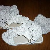 Обувь ручной работы. Ярмарка Мастеров - ручная работа Летние сапожки. Handmade.