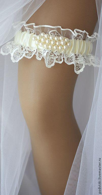 2c59ab17c Clothing   Accessories handmade. Livemaster - handmade. Buy Garter for the bride s  wedding   ...