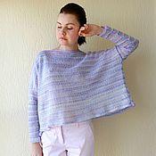 """Одежда ручной работы. Ярмарка Мастеров - ручная работа Свитер """"Stripe"""". Handmade."""