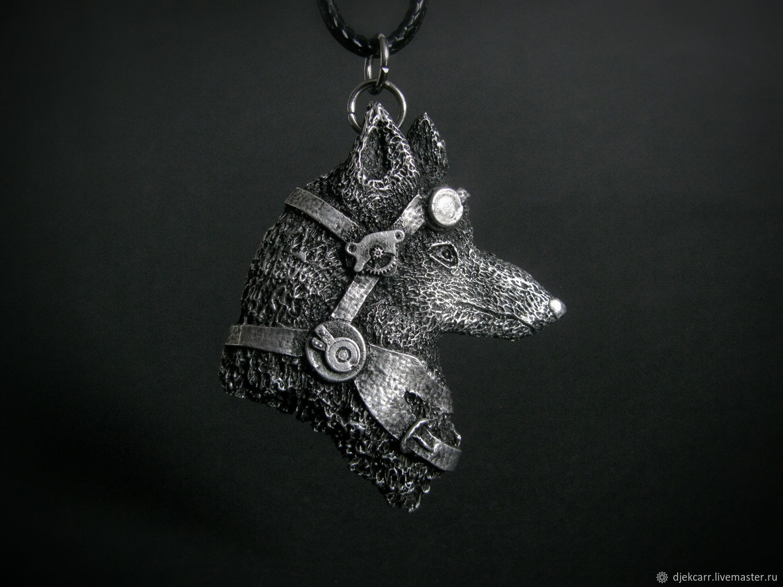 """Кулон """"Лис"""" (или Волк) в стиле стимпанк, Украшения, Москва,  Фото №1"""