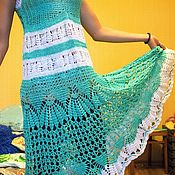 Одежда ручной работы. Ярмарка Мастеров - ручная работа летний сарафан. Handmade.