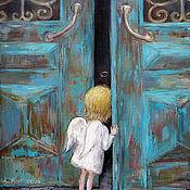 Картины ручной работы. Ярмарка Мастеров - ручная работа Чакветадзе Нино. Ангел.. Handmade.