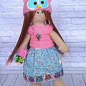 Куклы и игрушки ручной работы. Ярмарка Мастеров - ручная работа Кукла Микка крючком. Handmade.