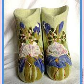 """Обувь ручной работы. Ярмарка Мастеров - ручная работа Валеночки """"Танго вдвоем"""". Handmade."""