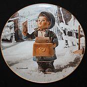 Винтаж handmade. Livemaster - original item Rare collectible plates