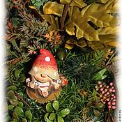 Цветы и флористика handmade. Livemaster - original item The mushroom. Interior arrangement. Handmade.