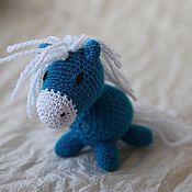 Куклы и игрушки ручной работы. Ярмарка Мастеров - ручная работа Вязаная лошадка. Handmade.