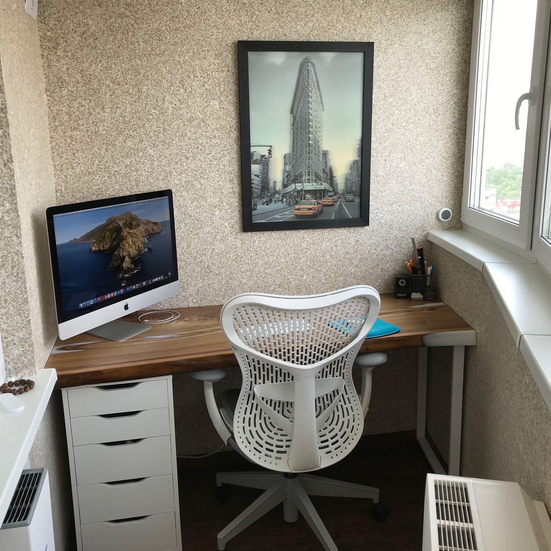 Компьютерный стол из слэба, Столы, Москва,  Фото №1