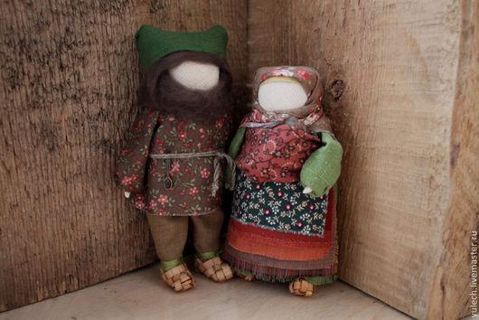 """Народные куклы ручной работы. Ярмарка Мастеров - ручная работа. Купить Куколки-семья народные русские куколки  """"Малая Церковь...."""". Handmade."""