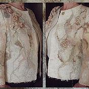 """Одежда ручной работы. Ярмарка Мастеров - ручная работа Жакет валяный """"Для Леди"""". Handmade."""
