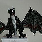 Куклы и игрушки ручной работы. Ярмарка Мастеров - ручная работа Фигурки животных из бисера. Handmade.