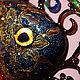 Животные ручной работы. Золотая рыбка (оберег на богатство). Юлия Ренессанс (Renaissance). Интернет-магазин Ярмарка Мастеров. Золото, рыбка