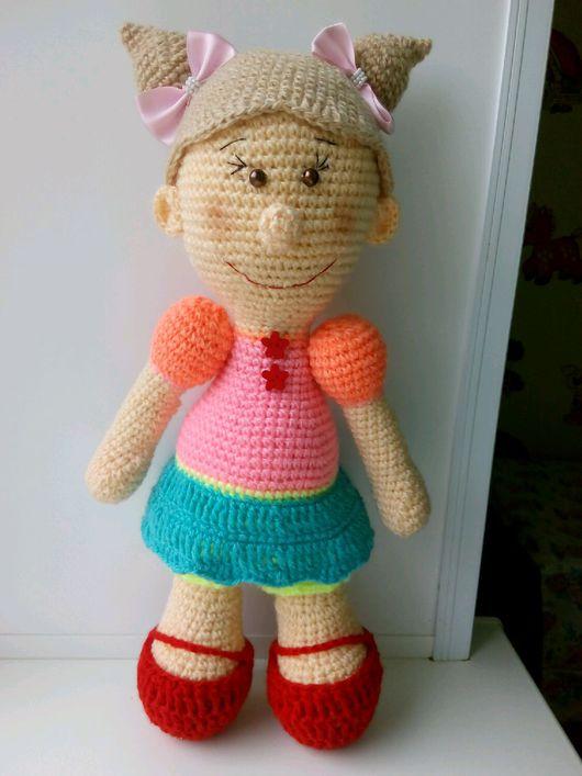 Человечки ручной работы. Ярмарка Мастеров - ручная работа. Купить Кукла вязаная. Handmade. Кукла ручной работы, вязаная игрушка