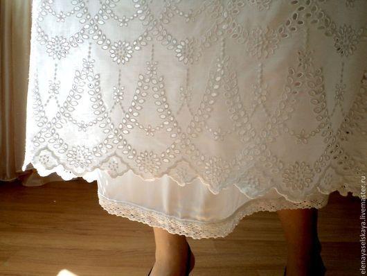 """Платья ручной работы. Ярмарка Мастеров - ручная работа. Купить Платье из шитья """"Жасмин"""". Handmade. Белый, нарядное платье"""