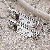 Материалы для творчества handmade. Livemaster - original item Pin brooch 20 mm Japan (Ref. 3331). Handmade.